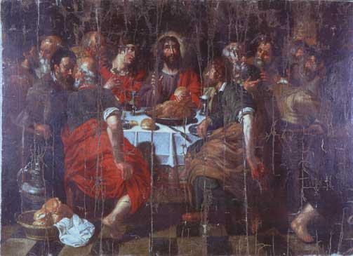 The Last Supper by Jacob Jordaens
